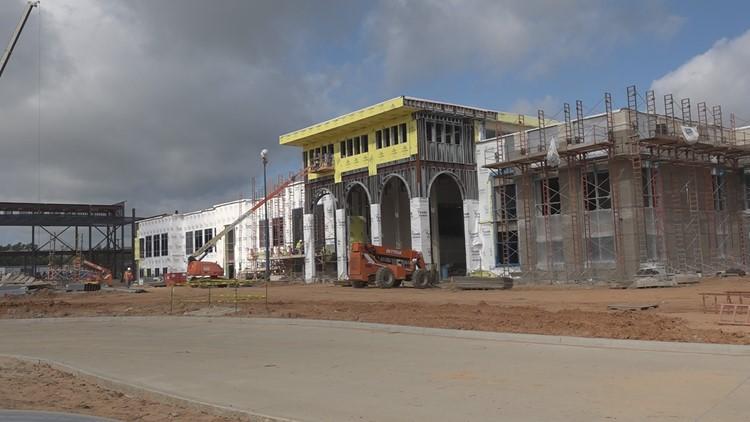 UPDATE: Construction at John Tyler, Robert E. Lee on schedule for Spring 2020 semester