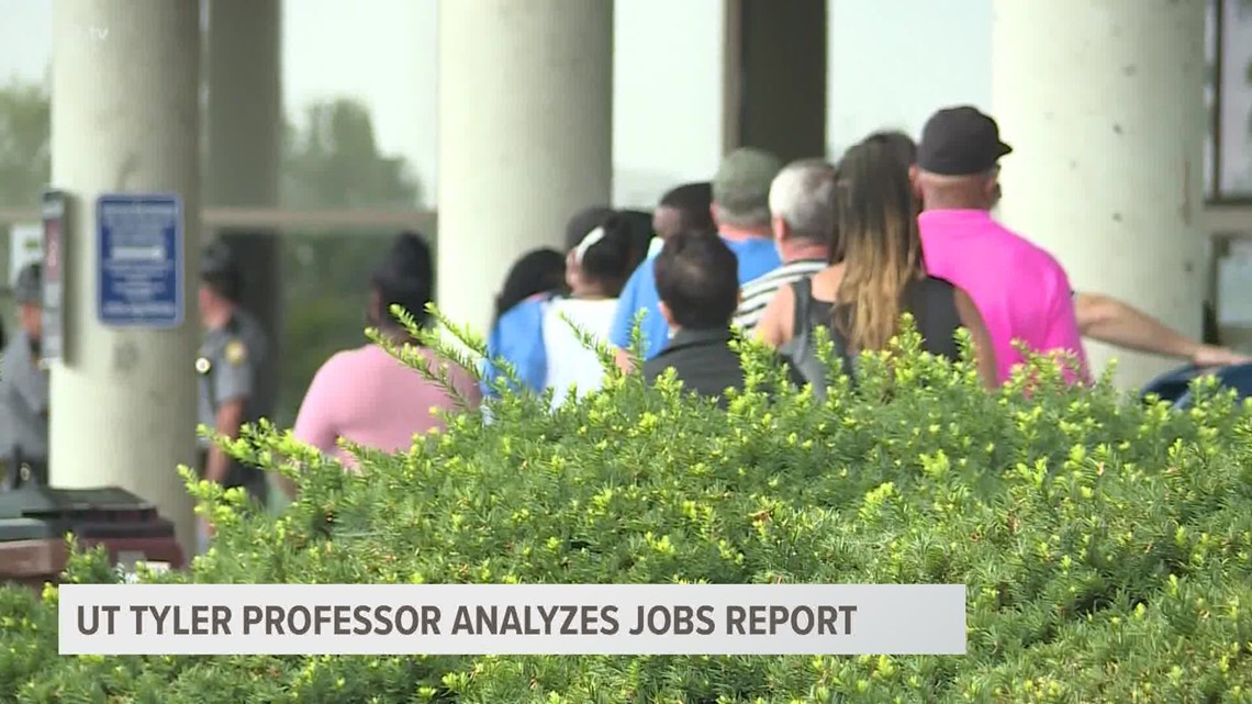 UT Tyler professor says August jobs report shows good things about US economic recovery