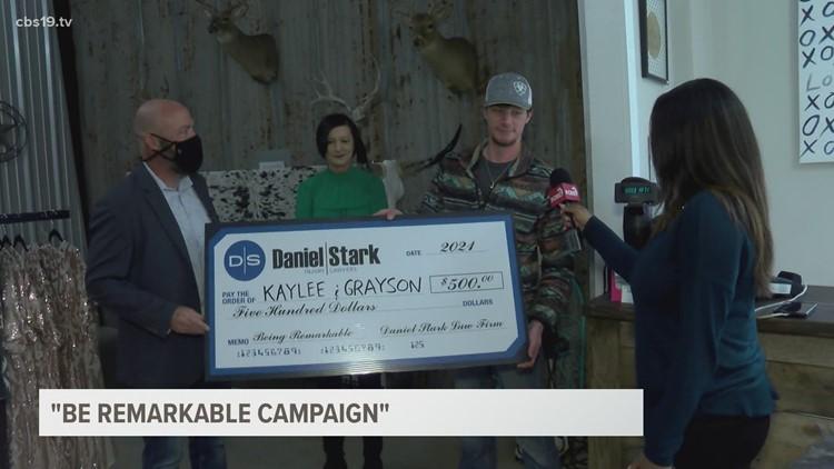BE REMARKABLE: Grayson Ferguson and Kaylee Barnum