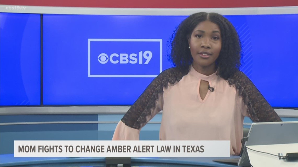 Mom fights to change Amber Alert law in Texas
