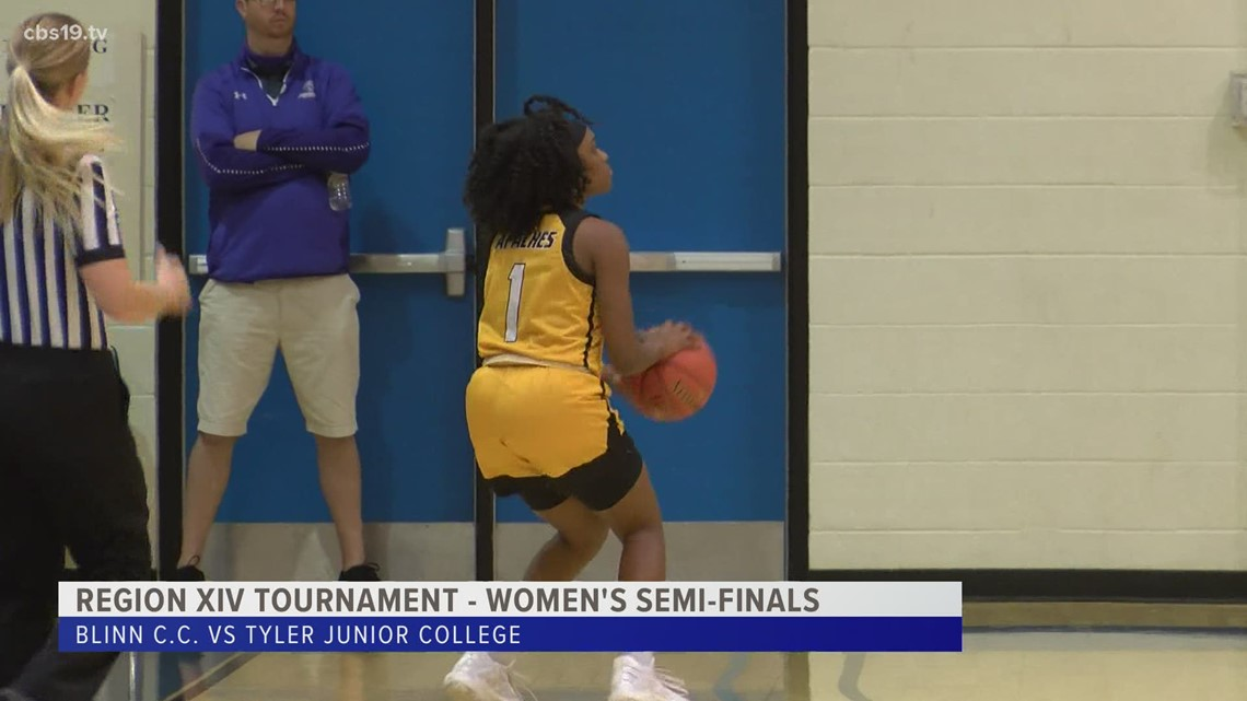 TJC Apache Ladies headed to Region XIV finals after a convincing victory over Blinn C.C. in the semi-finals