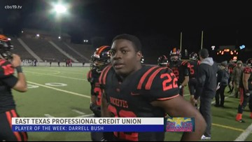 East Texas Professional Credit Union Player of The Week: Darrell Bush