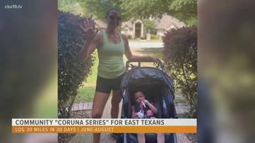 "Community ""CoRUNa Series"" allows East Texans to get active virtually"