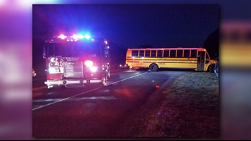 No injuries reported after crash involving Kilgore ISD bus, car