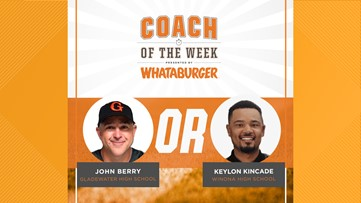 VOTE: Whataburger Coach of the Week - John Berry vs. Keylon Kincade