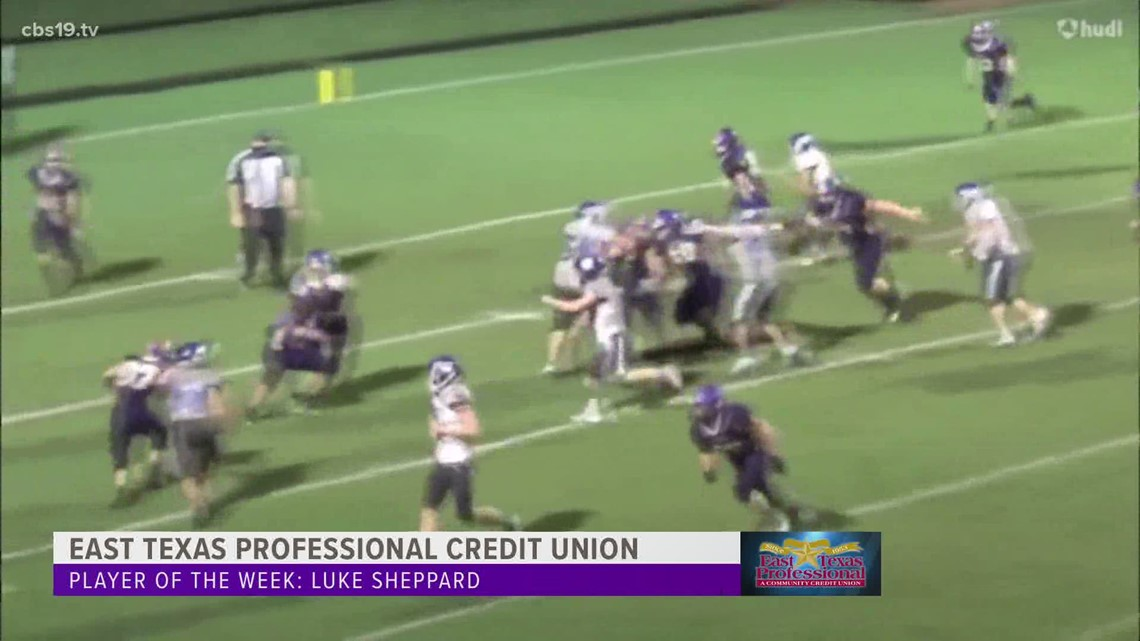East Texas Credit Union Player of the Week: Luke Sheppard