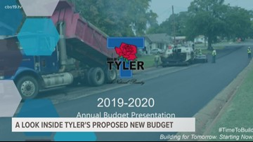 Tyler City Council hears upcoming year's budget proposal