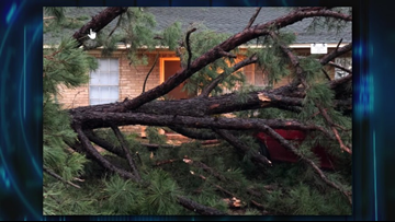 Kilgore residents begin cleanup process after Thursday morning's storm