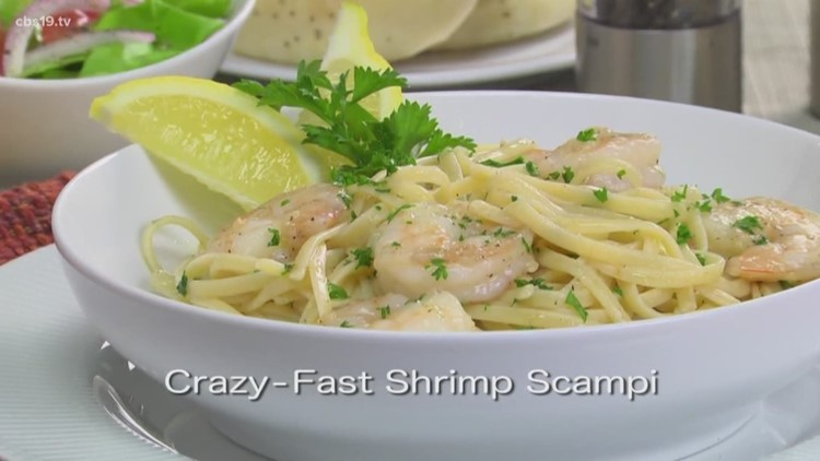 Mr. Food: Crazy Fast Shrimp Scampi