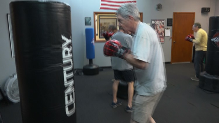 Boxing for Parkinson's