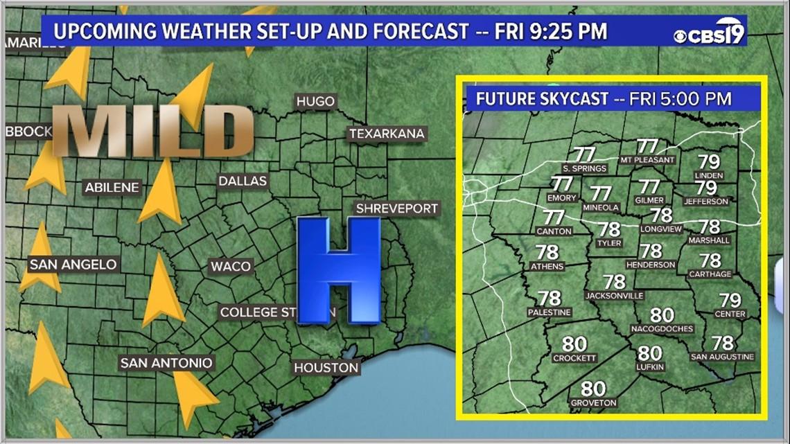 Weather in tyler texas tonights lotto