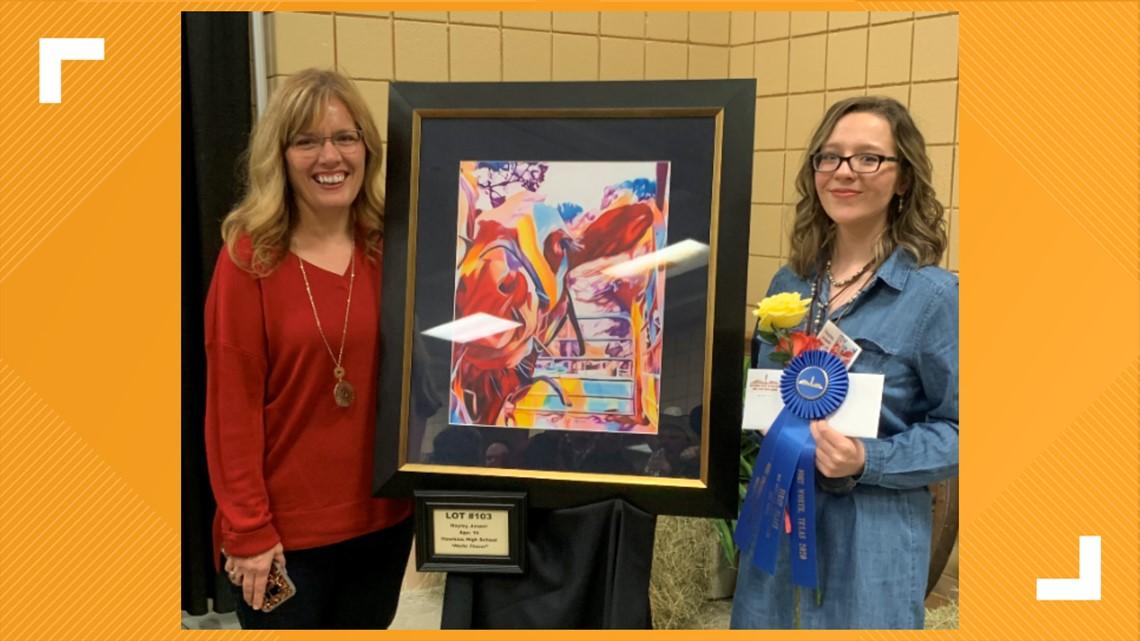 Totally East Texas: East Texas teen inspires through her art