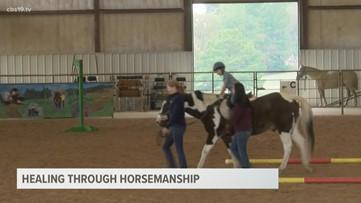 Local therapy center heals through horsemanship