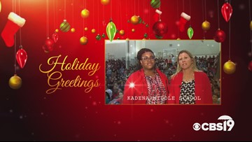 Military Greetings: Kadena Middle School