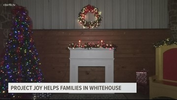 Project Joy helping families in Whitehouse