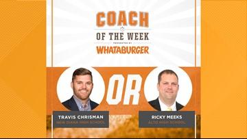 VOTE: Whataburger Coach of the Week - Travis Chrisman vs. Ricky Meeks