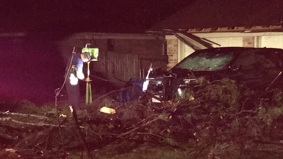 MARCH 14, 2019: Storm Damage Across East Texas