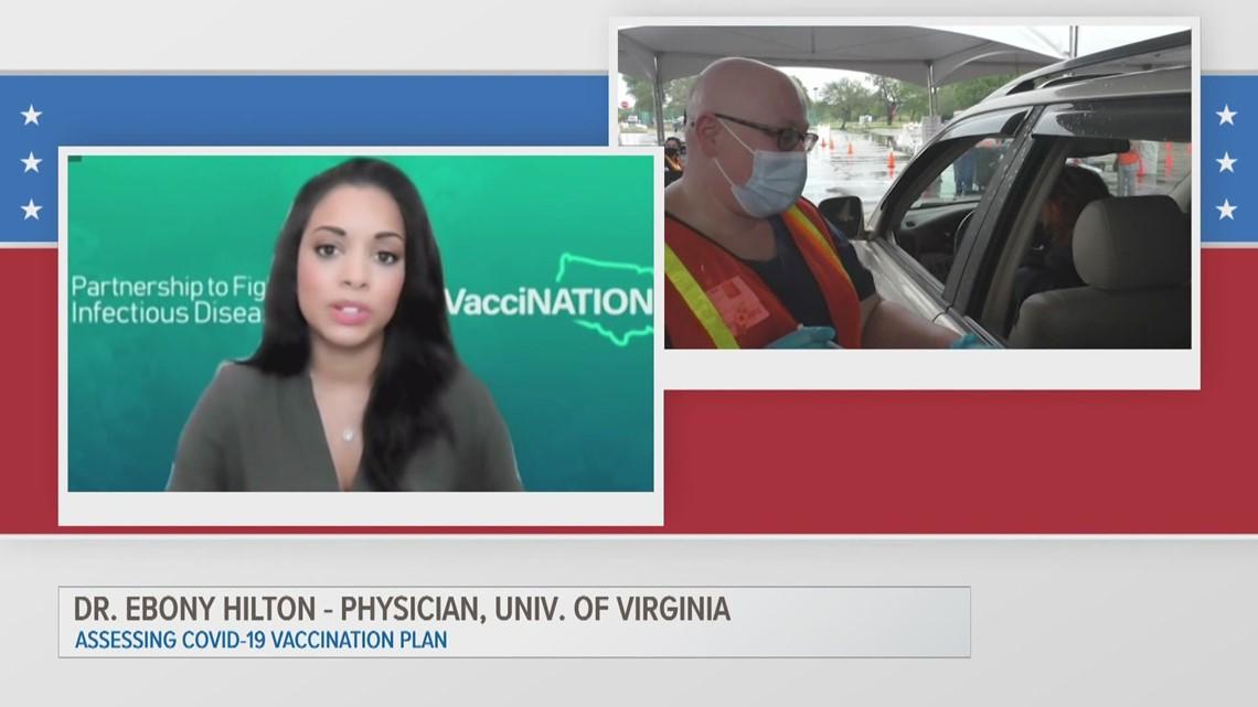 ETX Covered: Dr. Ebony Hilton on COVID-19 vaccine distribution