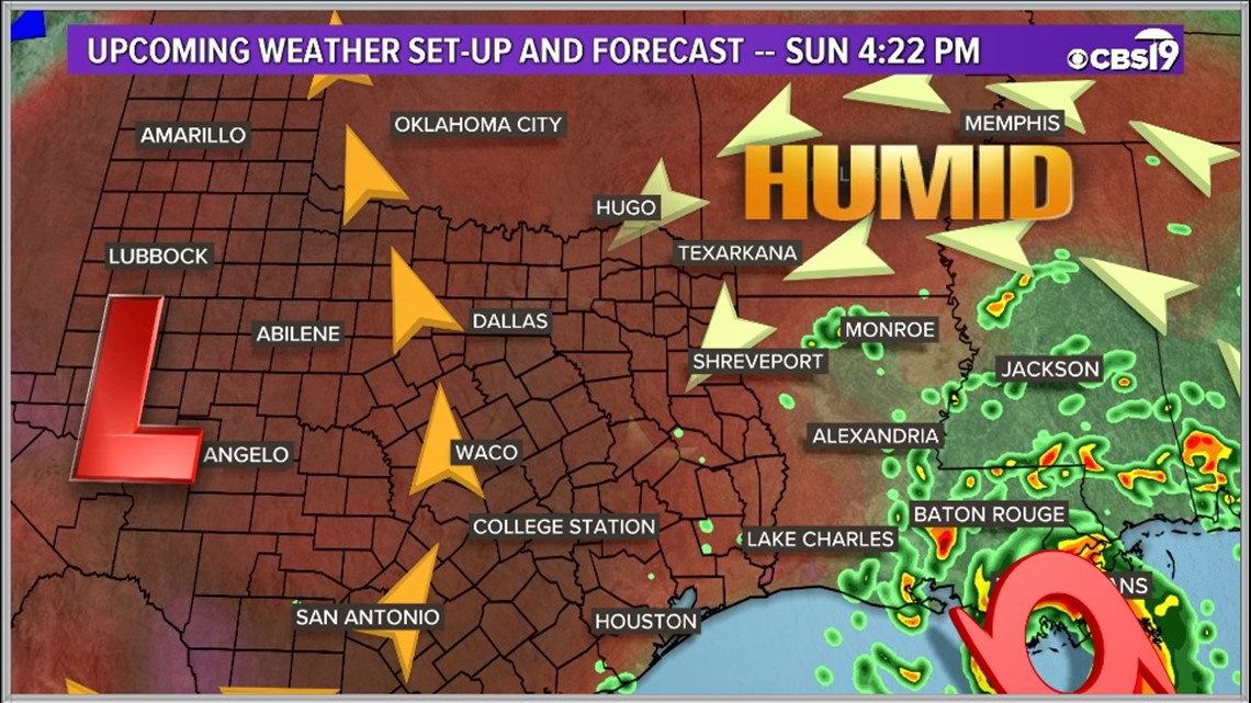 CBS19 WEATHER: Hot, humid weekend ahead with possible tropical concerns on Monday!