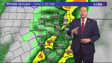 Frost possible Tuesday Morning, Storms by Thursday