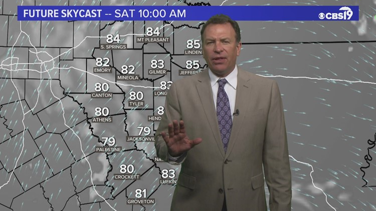 Saturday July 24th Morning Weather