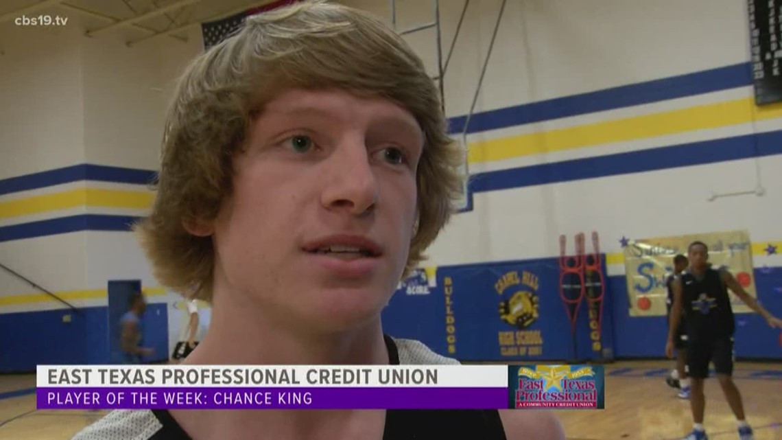 East Texas Professional Credit Union Player of The Week - Chance King