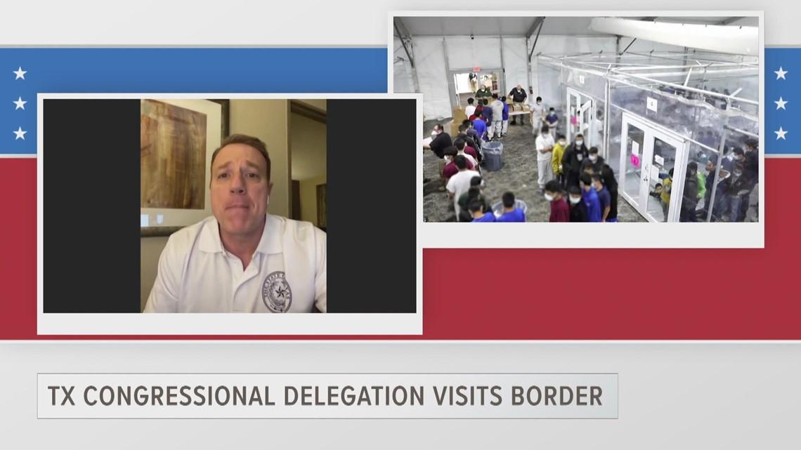 ETX Covered: Rep. Pat Fallon describes border conditions after tour of the Rio Grande Valley, part 2