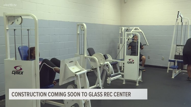 Major renovations coming soon to Glass Recreation Center