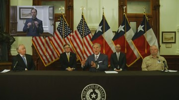 WATCH LIVE: Gov. Greg Abbott expected to announce next phase in plan to reopen Texas