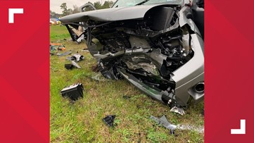 Two injured in head-on crash in Gladewater