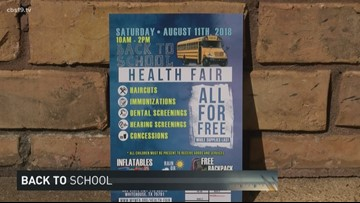 Whitehouse's Back to School Health Fair Preview