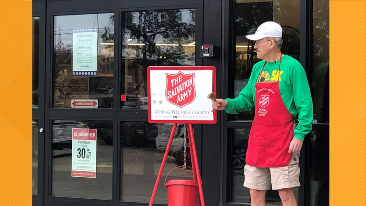 Celebrating 20 years ringing bells for the Salvation Army of Tyler