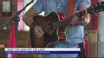 Song written about Lake Tyler residents feelings regarding Toll 49 expansion