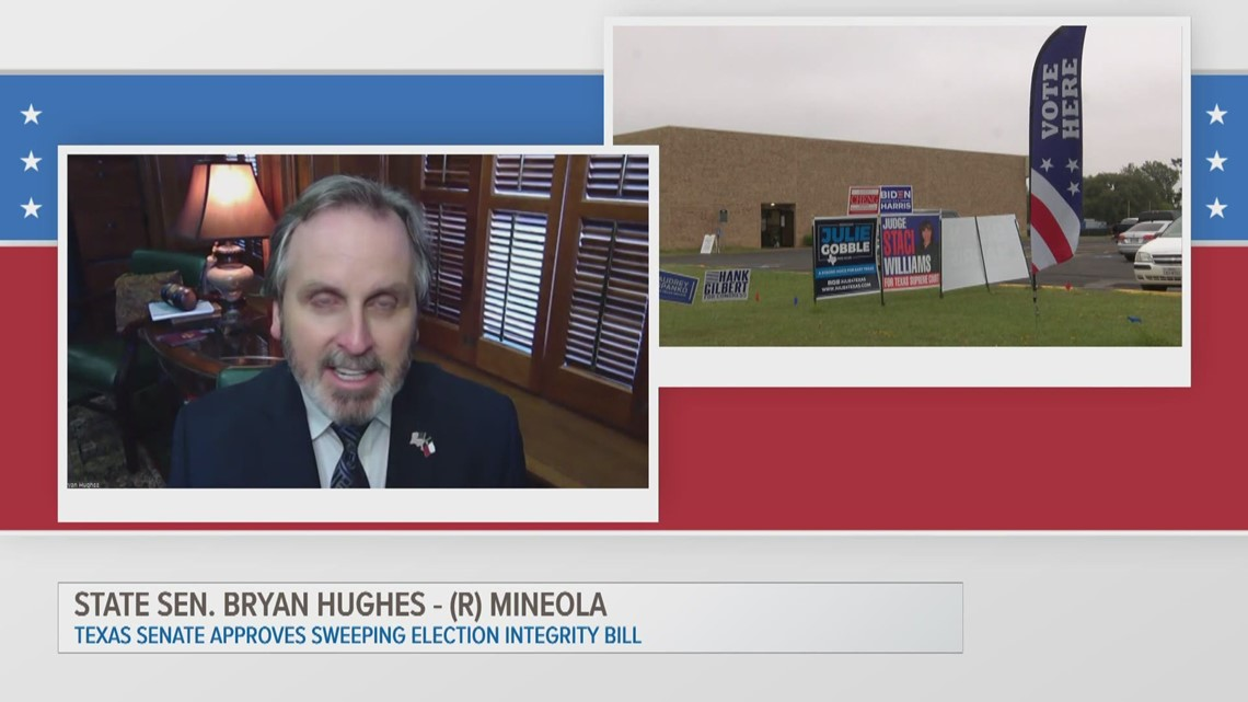 ETX Covered: State Sen. Bryan Hughes on Senate Bill 7 and election integrity, part two