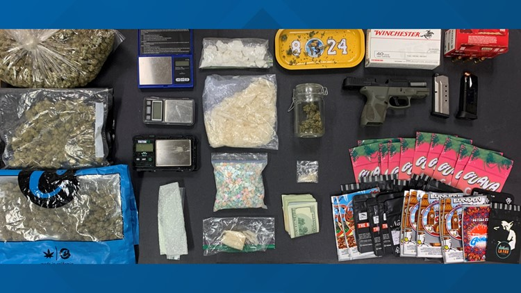 1 person taken into custody following tip drugs were being sold out of a residence