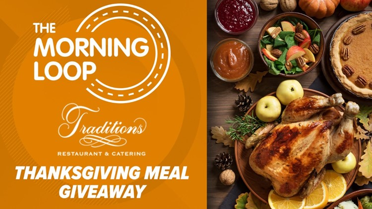ENTER TODAY'S CODE WORD HERE: CBS19, Traditions team up for Thanksgiving Meal Giveaway