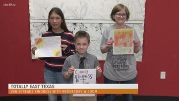 Totally East Texas: Van Chooses Kindness