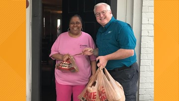 EAST TEXANS HELPING EAST TEXANS: Disabled veteran gets groceries delivered after 4 days with no food