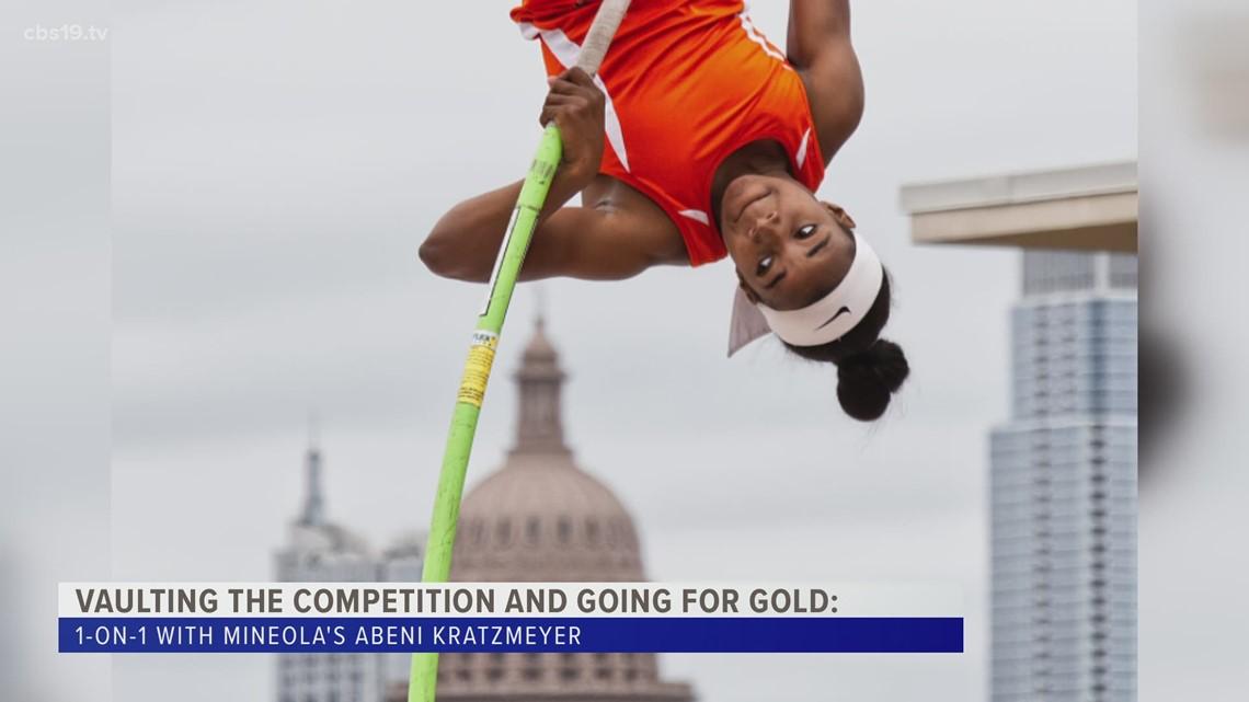 GOING FOR GOLD: Mineola Senior Abeni Kratzmeyer looking to break state record for pole vault