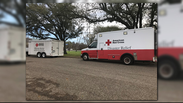 Red Cross in East Texas on standby for Tropical Storm Barry