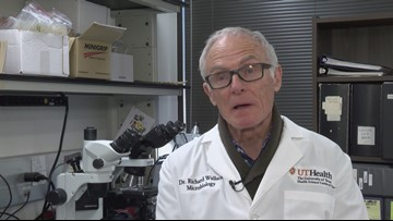 Dr. Richard Wallace speaks on coronavirus