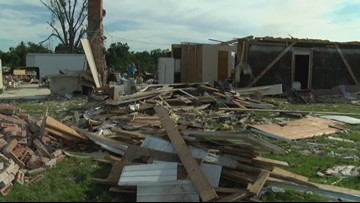 ETX homeowners begin again after tornadoes