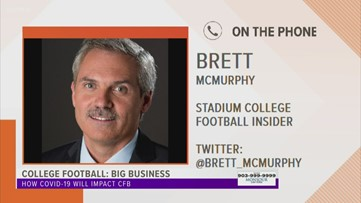 College football insider Brett McMurphy chats with CBS19's Johnny Congdon