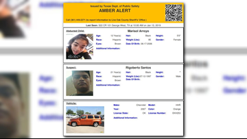 AMBER ALERT: Child in Live Oak Co  believed to be in