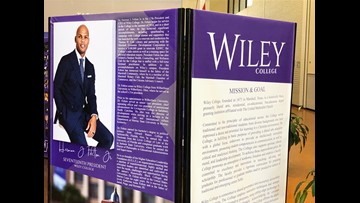 Wiley College community celebrates inauguration of president