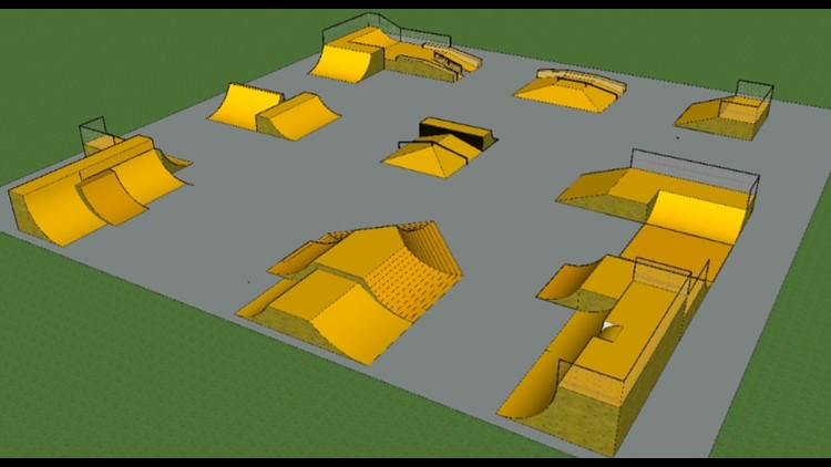 Longview Skatepark model