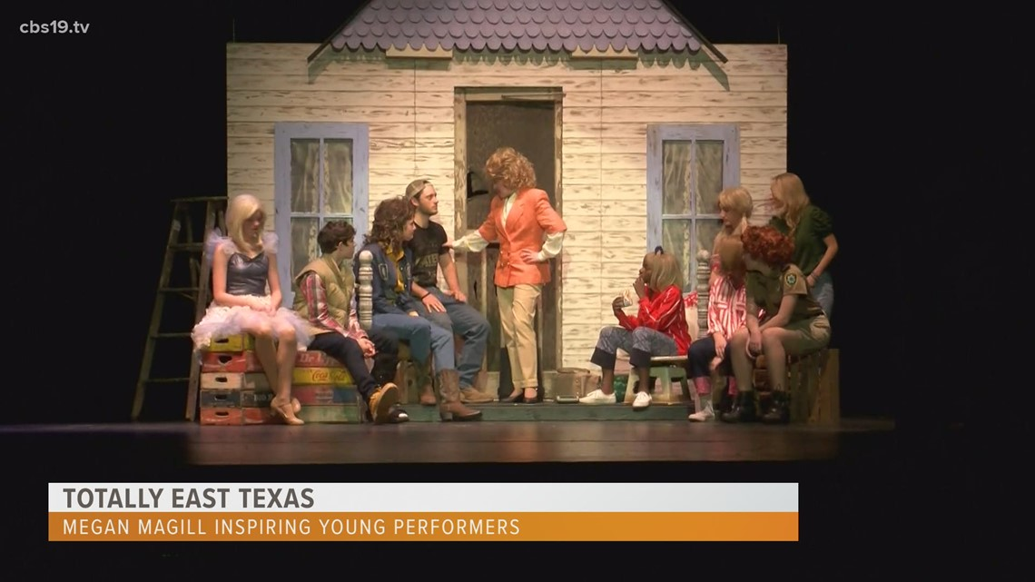 TOTALLY EAST TEXAS: Megan Magill inspires a new generation of East Texas theater performers