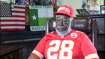 Football legend Abner Haynes recalls integrating Texas football, becoming early AFL superstar