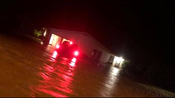 Major flooding, damage reported in East Texas, Cherokee County hardest hit