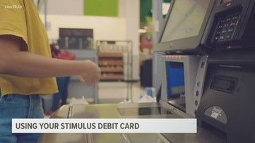 How to use your stimulus debit card